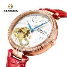 e9a7635dcd5 STARKING Relógio Constelação de ESCORPIÃO Design Auto-Esqueleto Relógio de Pulso  Mecânico Relógios Das Mulheres