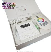 DC5V 12V 24V WS2812 WS2811 WS2813 6803 1903 IC Digital Addressable LED Strip Music Controller Pixels Colorful x1 x2 Controller