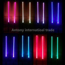 2 pcs lot scalable Lightsaber Led Flashing Light Star Wars Sword Toys Cosplay Mutual percussion Sabers