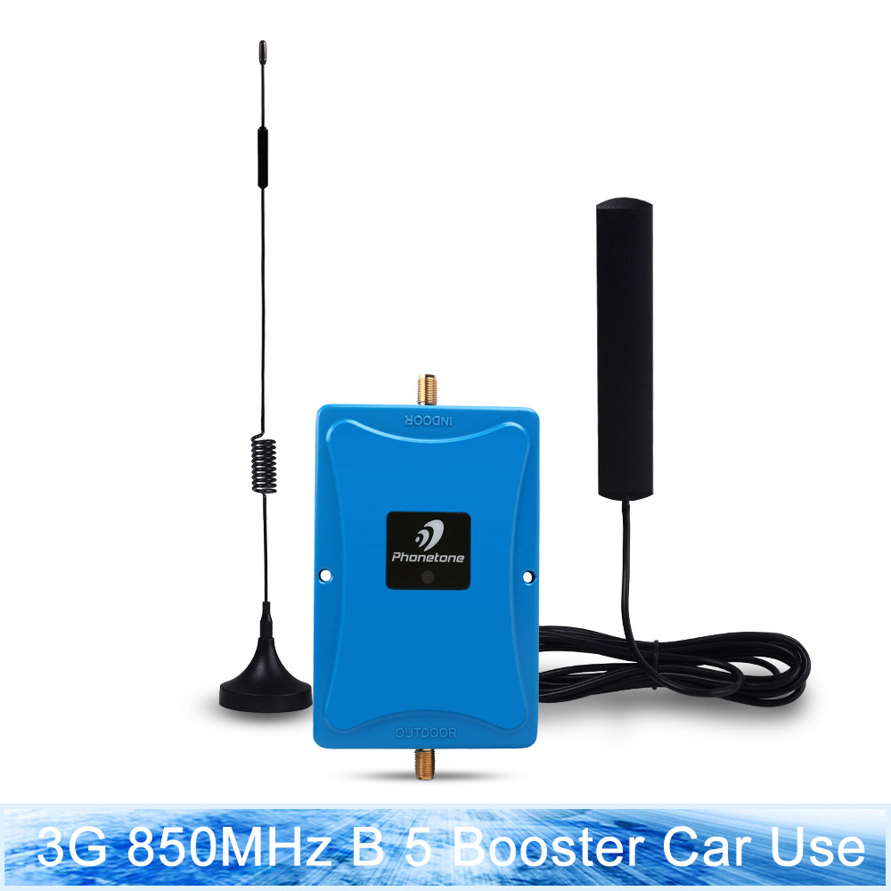 Cellular Signal Booster 3g repeater 850MHz Band 5 3G Amplifier 45dB Mobile Phone Repeater & Indoor Outdoor Antenna For Car UseCellular Signal Booster 3g repeater 850MHz Band 5 3G Amplifier 45dB Mobile Phone Repeater & Indoor Outdoor Antenna For Car Use