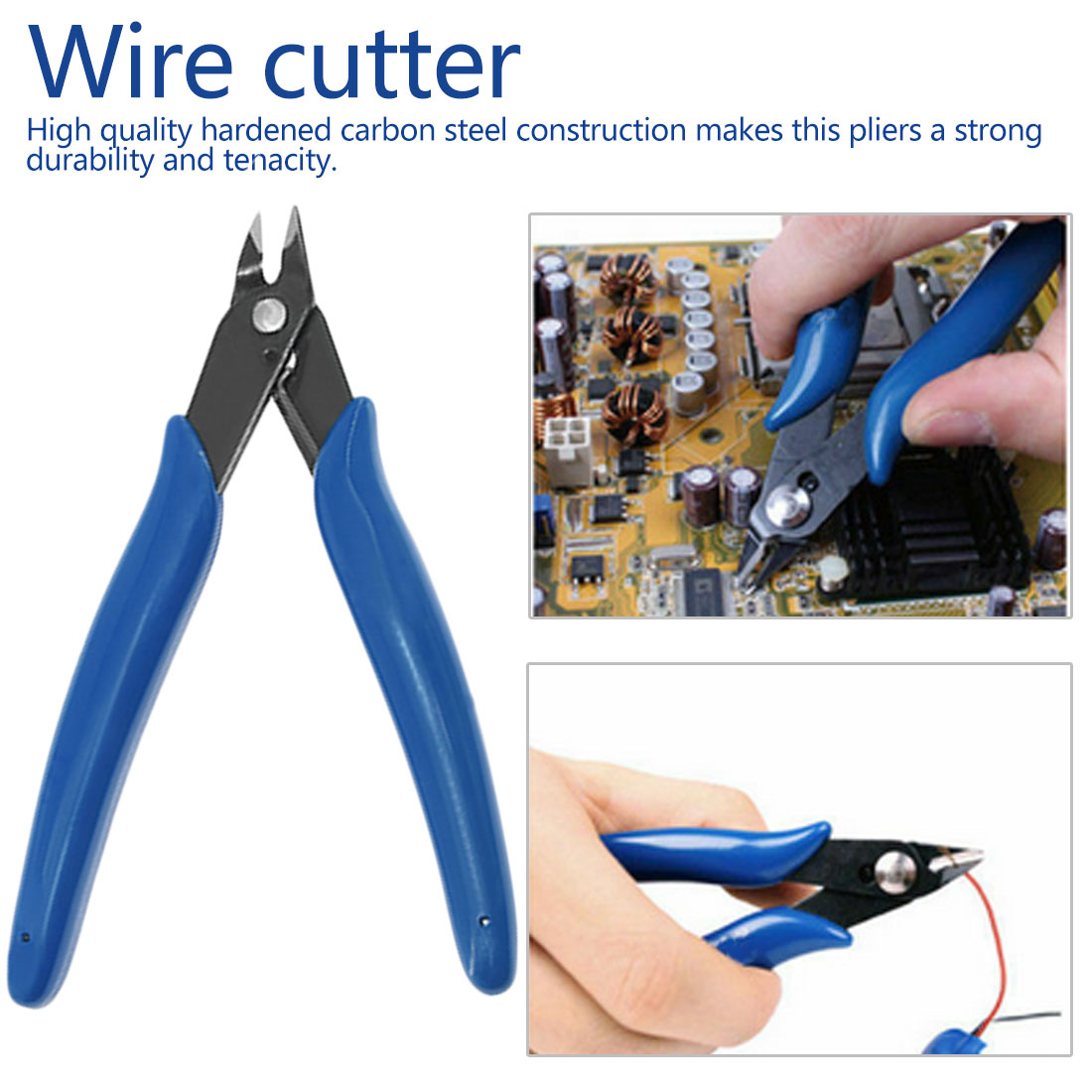 Diagonal Plier 3D Printer Parts Electrical Wire Cable Cutters Cutting Side Snips Flush Pliers Nipper Hand Tools