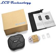 TK905 TKSTAR Localizador GPS Tracker Para Carro Veículo GSM GPRS Rastreador Google Map 5000 MAH Bateria de Longa Duração Frete Grátis