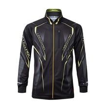 Nowa marka Daiwa koszula wędkarska letnia kurtka wędkarska ochrona przeciwsłoneczna oddychające ubrania wędkarskie z długimi rękawami UV kurtka wędkarska s