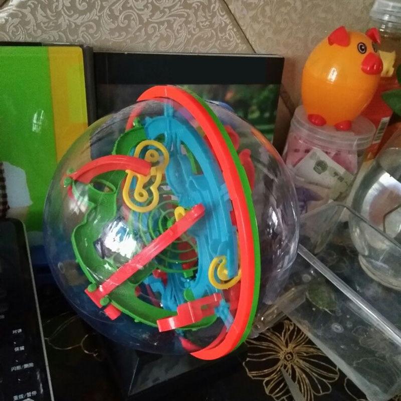 Novi 3D Magic Intellect Puzzle Maze Ball Mozgalica Igra Obrazovanja - Igre i zagonetke - Foto 6