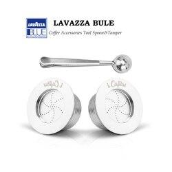 Yeniden kullanılabilir Lavazza Mavi Kahve Filtreleri Lavazza LB951 ve CB-100 Makine Paslanmaz Çelik Doldurulabilir Kahve Kapsül Pod & sabotaj