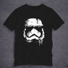 2019 Latest Fashion Star Wars Stormtrooper T Shirts Men Short Sleeve O Neck Top Tees 100% Cotton t-shirt