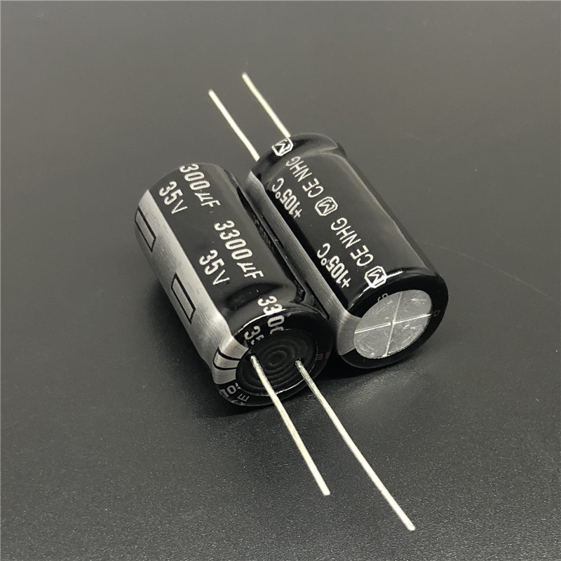 5PCS/20PCS 3300uF 35V NHG Series 16x30mm 35V3300UF Good Quality Electrolytic Capacitor