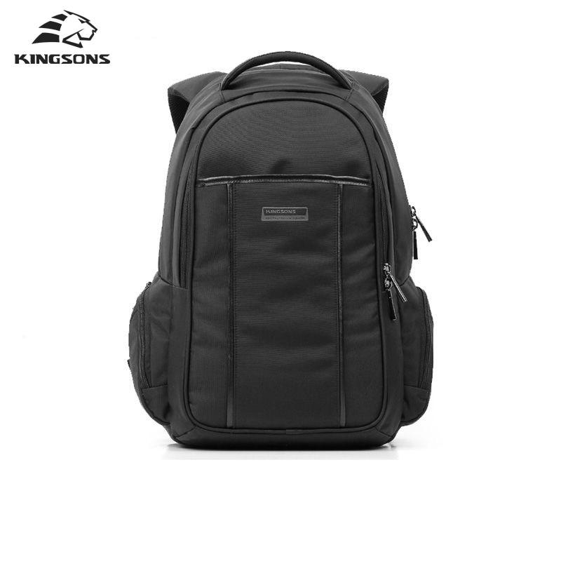 Kingsons 15.6 Inch Laptop Backpack For Men Vintage Bag Men Backpack Rucksack Canvas School Bag Mochila Escolar kingsons backpack for men waterproof men laptop backpack 15 6 inch notebook school bag rucksack mochila escolar