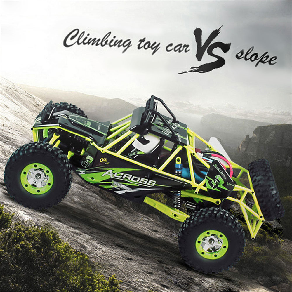 GizmoVine RC Car WLtoys 12428 4WD 1/12 2.4G 50km/h High Speed Monster Truck Radio Control RC Buggy Off-Road RTR Updated Version wltoys 12402 rc cars 1 12 4wd remote control drift off road rar high speed bigfoot car short truck radio control racing cars