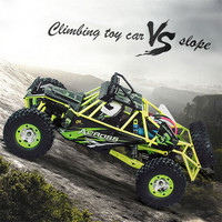 RC Car WLtoys 12428 4WD 1/12 2.4G 50km/h High Speed Monster Truck Radio Control RC Buggy Off Road RTR Updated Version