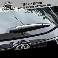 Apto para toyota highlander 2015 abs chrome janela traseira limpador capa traseira pára brisas limpador carro estilo do carro acessórios Estilo de cromo     -