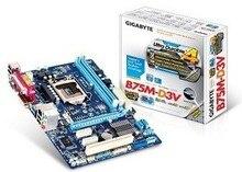 Ga-b75m-d3v B75M-D3V b75 LGA DDR3 1155 USB3.0 motherboard belt printer interface perfect