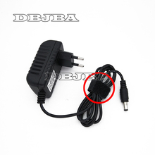 Высокое качество AC 100 V-240 V конвертер IC Мощность адаптер с источником питания от постоянного тока, 6 в 2A 2000mA 12 Вт Питание ЕС штекер постоянного тока 5,5 мм x 2,1 мм 5,5*2,5 мм