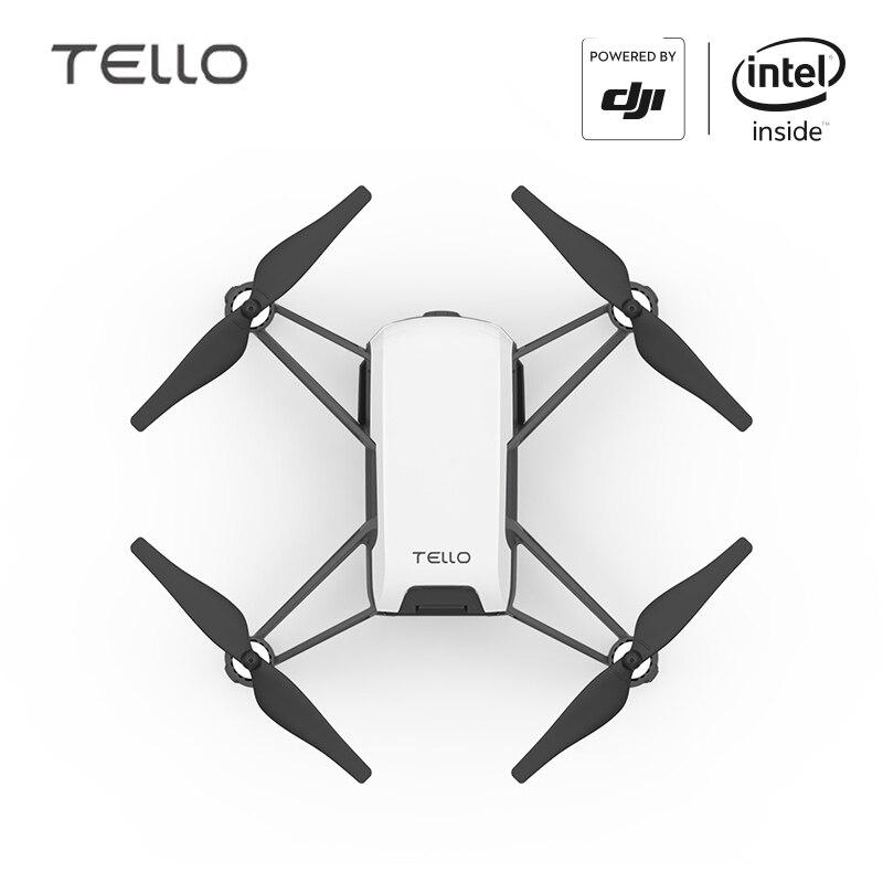 DJI Tello Caméra Drone 5MP Photos Eletronic Stabilisation D'image Ryze Tello avec 720 P HD Transmission quadrirotor FVR HÉLICOPTÈRE