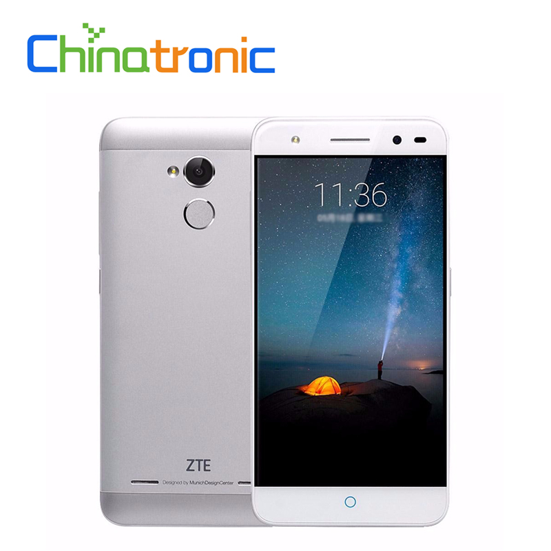 "bilder für Original ZTE Blade A2 Metallgehäuse Android 6.0 FDD LTE Mobilen telefon MTK6750 Octa-core Dual SIM 5,0 ""HD 2G RAM 16G ROM FingerPrint"