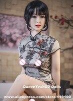 158センチ現実的な女性のセックス人形シリコーン大人の人形フルサイズ愛人形膣セクシーなおもちゃのための男