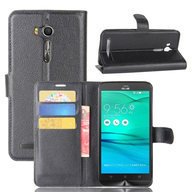 Case-Cover Wallet Phone-Case Asus Zenfone Go-Zb552kl