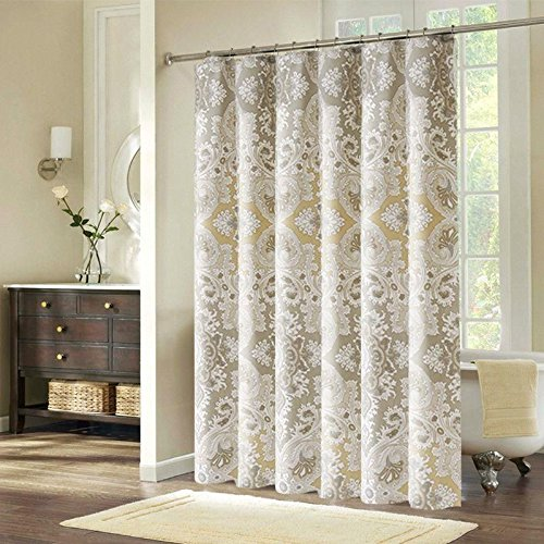Römischen Stil Paisley Duschvorhang, exotische Stoff Duschvorhang ...