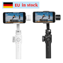 лучшая цена Zhiyun Zhi yun Smooth 4 3-Axis Focus Pull & Zoom Capability Handheld Gimbal Stabilizer for iPhone X 8 7 Plus Samsung S8+ S8