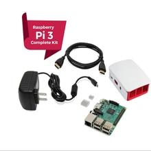 Raspberry Pi 3 KOMPLETTE Starter Kit, schwarz, Raspberry Pi3 Modell B Barebone-tablet-pc Computer Motherboard 64bit Quad-Core CPU 1 GB RA