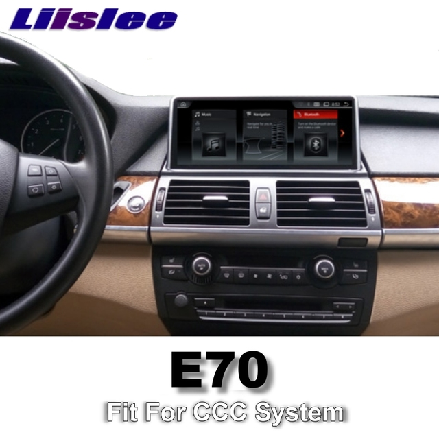 For BMW X5 E70 2006~2010 CCC LiisLee Car Multimedia GPS