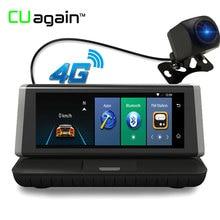 CUagain CU2 8 »Ночное видение DVR gps навигации регистраторы 4 г Wi-Fi 1080 FHD заднего вида Камера парковка bluetooth видео Регистраторы