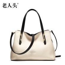 LAORENTOU new 2016 women handbag genuine leather shoulder bag designers brand wristlets fashion handbags women messenger bags