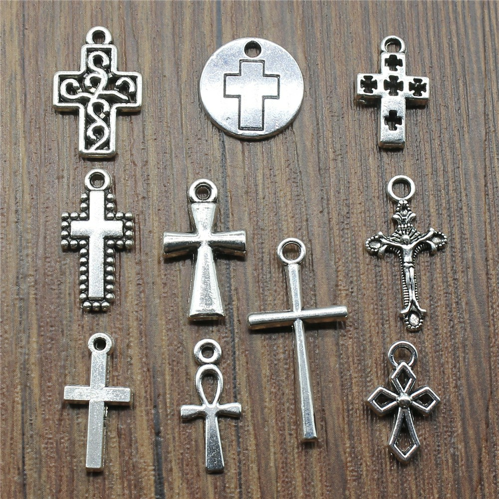 WYSIWYG 40pcs/lot Antique Silver Color Small
