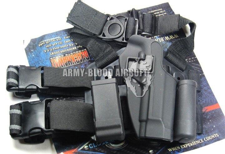 CQC 홀스터 다리 M911 GLOCK 전체 P226 시리즈 (BK) P226 M9 시리즈 GLOCK M1911 (DE)