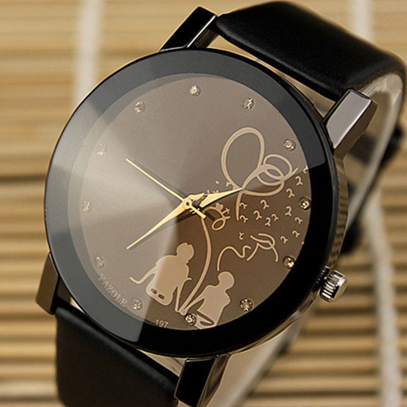 YAZOLE Fashion Quartz Watch Women Watches Ladies Famous Brand Lovers Unisex Watch Female Clock Montre Femme Relogio Feminino