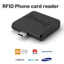 1 шт. RFID 13,56 МГц IC MF 1 S50 S70 NTAG213 NTAG215 NTAG216 считыватель NFC Портативный Micro USB кардридер для телефонов Android