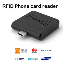 1pcs RFID 13.56Mhz IC MF 1 S50 S70 NTAG213 NTAG215 NTAG216 NFC Reader Portable Mirco USB Card Reader for Android Phone