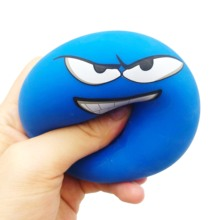 7CM Toy Squishy Slow Rising Stress Relief Ball Expression Squeeze Soft Relieves Antistress Ball Children Kid Fun Kids Toys Gift цена и фото