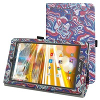For Archos 80 Oxygen Case Folio Stand Cover Magnetic Flip PU Leather Shockproof 8 Case For