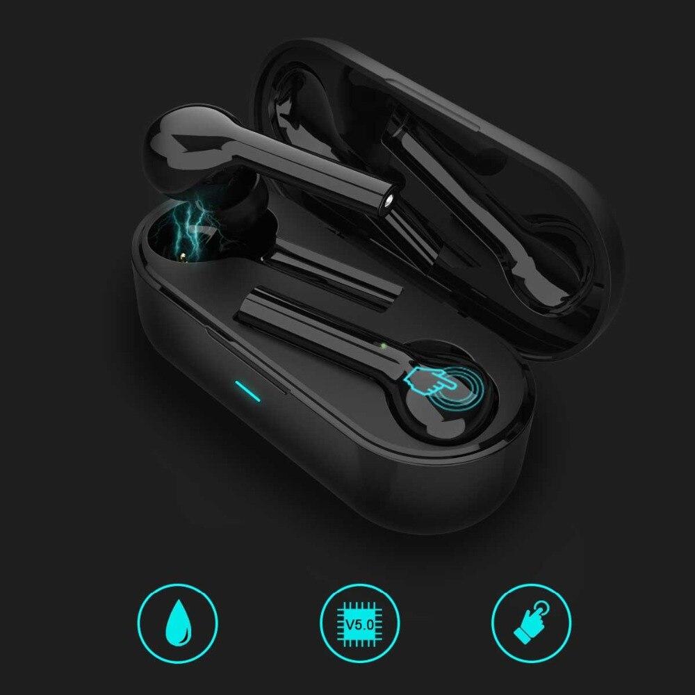 OneAudio Mini Bluetooth Earphones Ture Wireless 5 0 Headphones Touch Control Earbuds IPX4 Stereo Sport Earphones