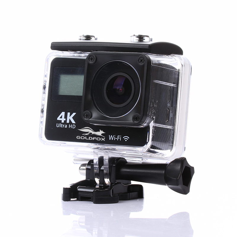 Remote Ultra HD 4K 30fps WiFi Action camera 1080P Sport camera go 30m waterproof pro Sport DV 150D Wide Angle Dual LCD 4K Camera 4k 30fps action camera wifi 1080p uhd 2 0 lcd screen 30m waterproof diving 170 degree sport action camera dv camera