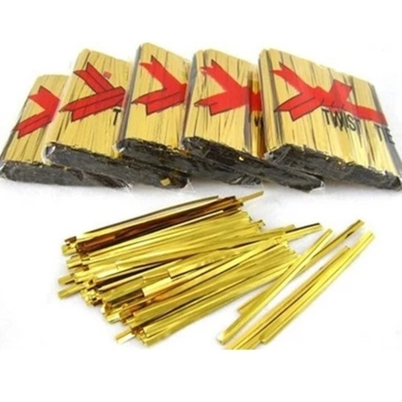 Aliexpress.com : Buy 800PC Metallic Twist Ties Candy