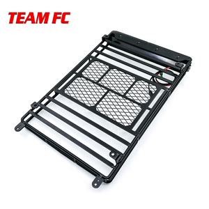 Image 5 - Metal Roof Rack Luggage Carrier with 36 LED Spotlight bar For 1/10 RC Car Trx4 RC4WD Cherokee Wrangler Axial Scx10 S38