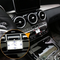 Rectangle Car Electronic Quartz Clock
