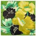 60 cm * 60 cm de Colores pintadas a mano con motivos florales de impresión digital señoras pequeñas bufandas cuadradas de seda flores Mai Tong bufandas