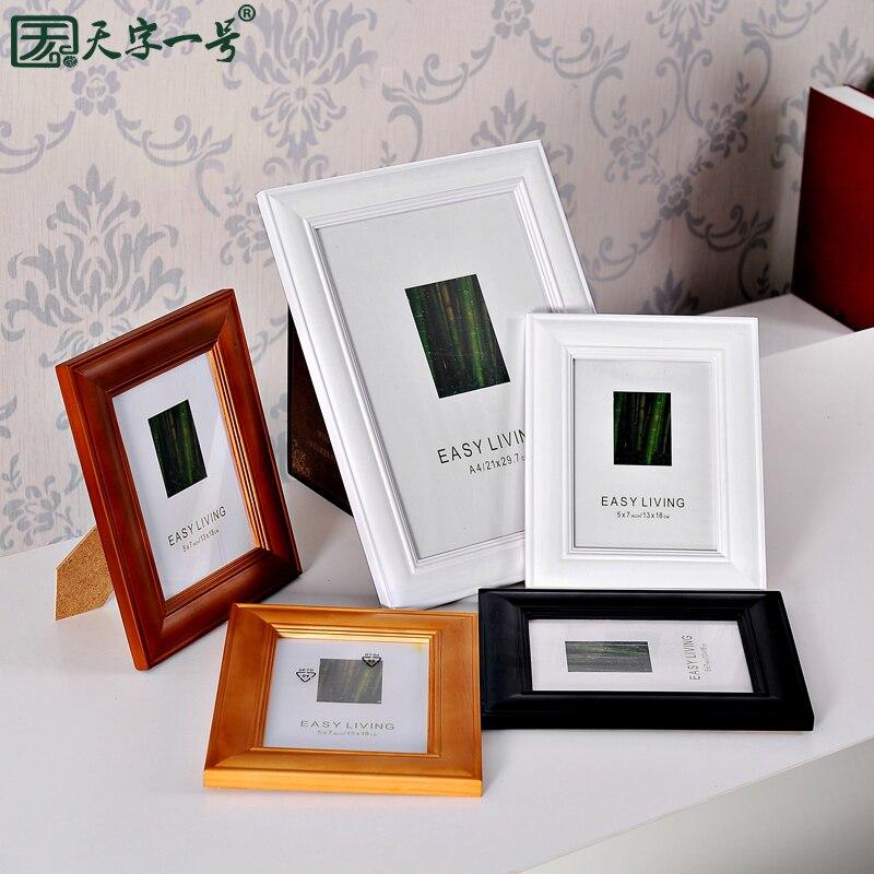 Mode Fotolijst Thuis Massief Houten Frame 20 24 5 67 810 A4 16 Frame