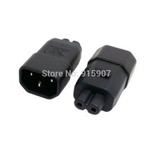 CY Cablecc UL Aprovado Moldado Padrão IEC 320 C14 Tomada IEC C7 Plug AC Power Adapter Set