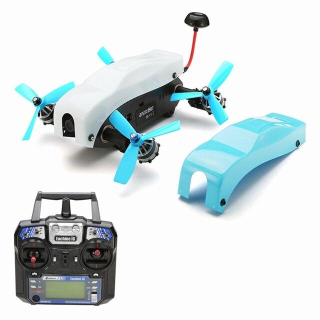 Nueva Llegada Eachine Racer 180 FPV Drone F3 6DOF 350 mW 5.8G 40CH VTX 1000TVL Cámara CCD w/I6 Cámara RTF Control Remoto aviones no tripulados