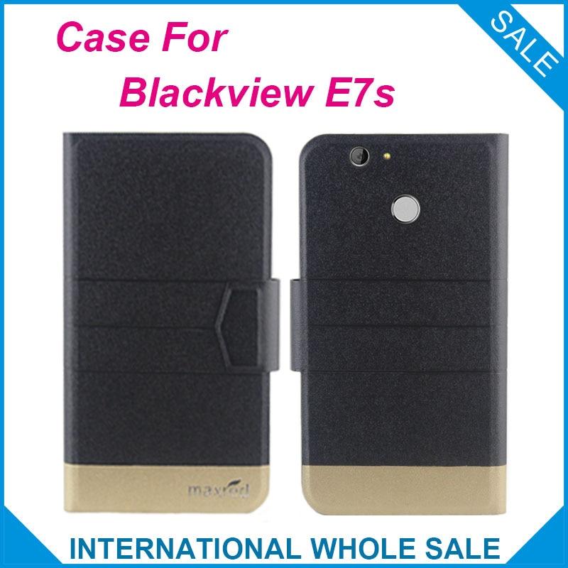 5 գույ Super! Blackview E7s Case Fashion Business Magnetic - Բջջային հեռախոսի պարագաներ և պահեստամասեր - Լուսանկար 1