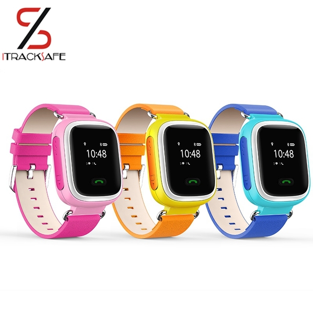 Gps Tracker Kids Watch Baby Gsm Gprs Agps Indoors Bracelet Personal Wrist Tracking Device