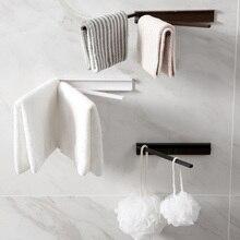 Вращающаяся стойка для полотенец, вешалка для ванной, кухни, полка для удочек, настенная вешалка для полотенец, держатель, аксессуары для оборудования