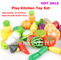 Baby toy Child fruit kitchen toy play set kindergarten toy 7pcs per set