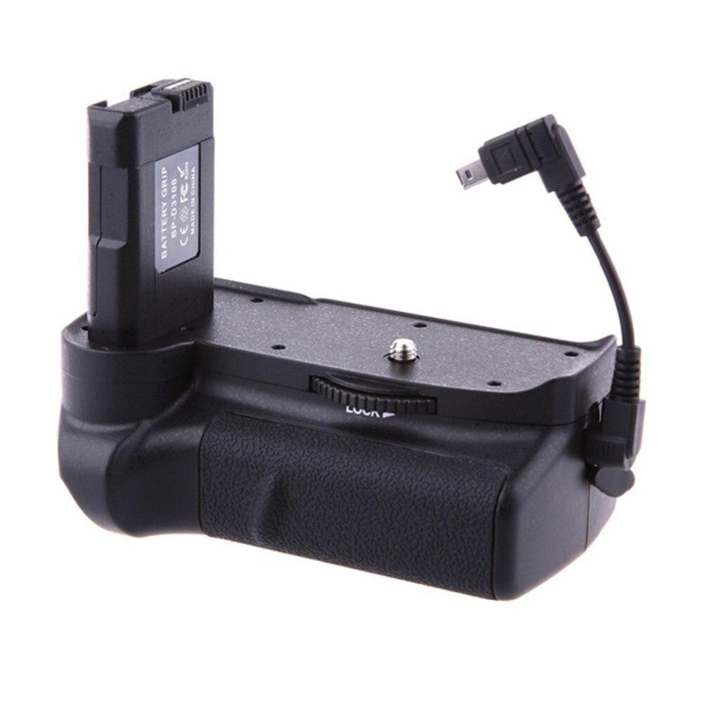 Профессиональный DSLR Вертикальная Камера Батарейная ручка держатель для D3100 <font><b>D3200</b></font> D3300