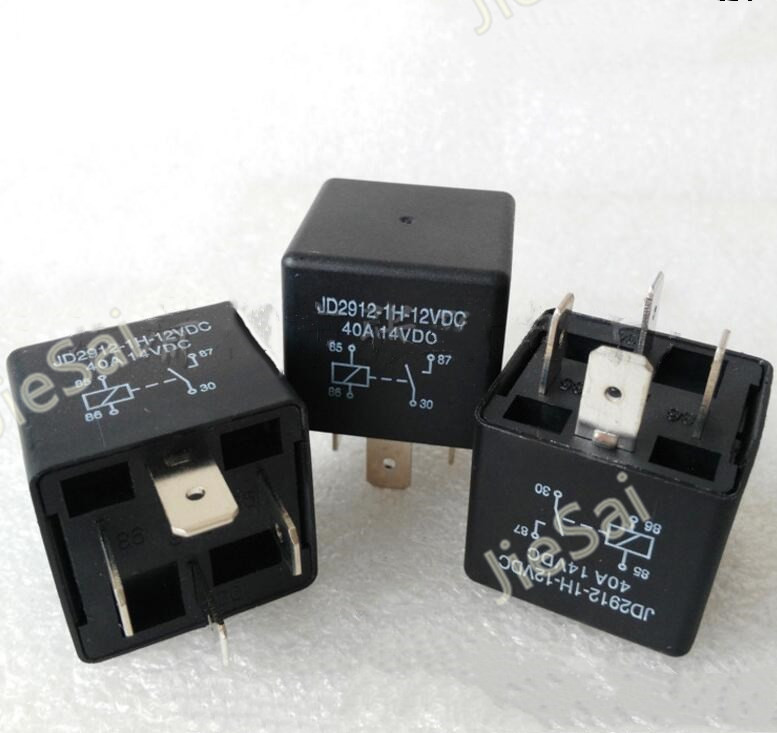 4 Pin Normally Open Auto Relay Jd2912 1h 12vdc 40a 12v