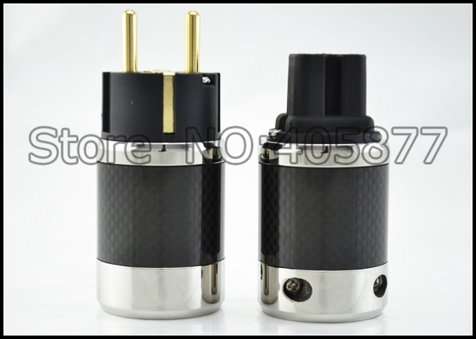 Unprint Furutech Design FI-50M&FI-50 Copper Gold Carbon European AC Power Plug шорты d exterior